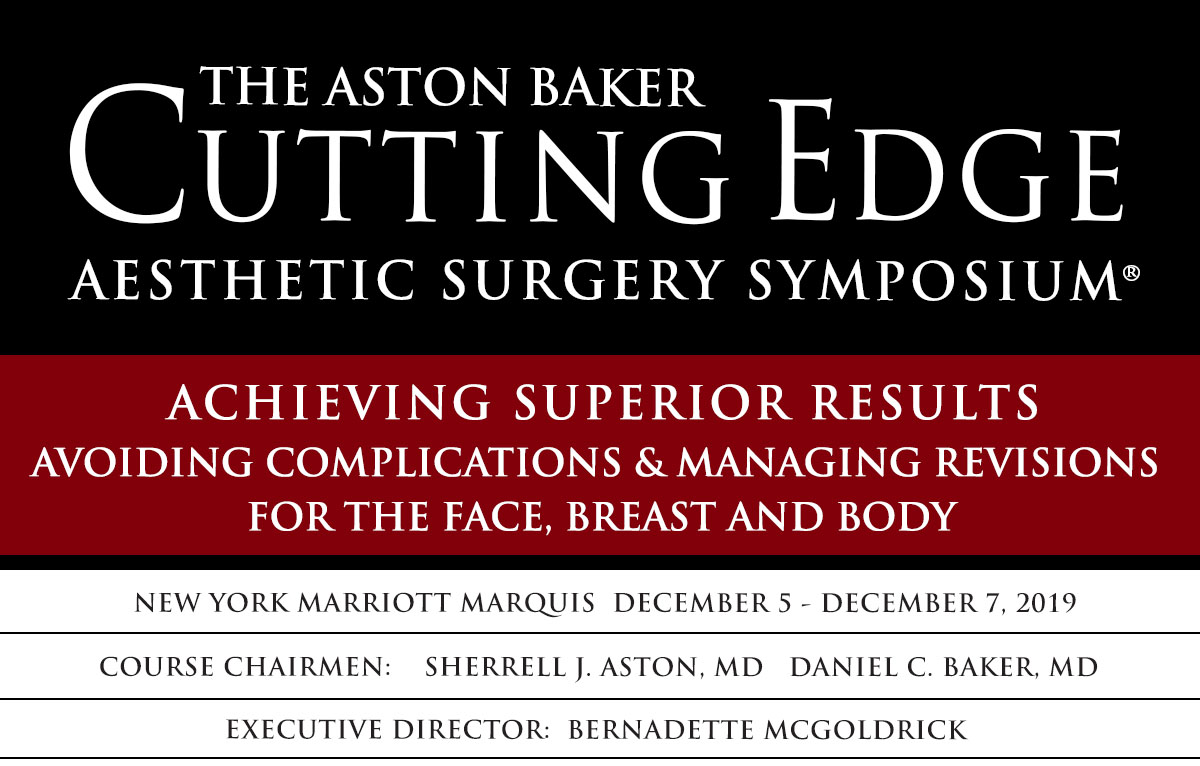 Aston Baker Aesthetic Surgery Symposium